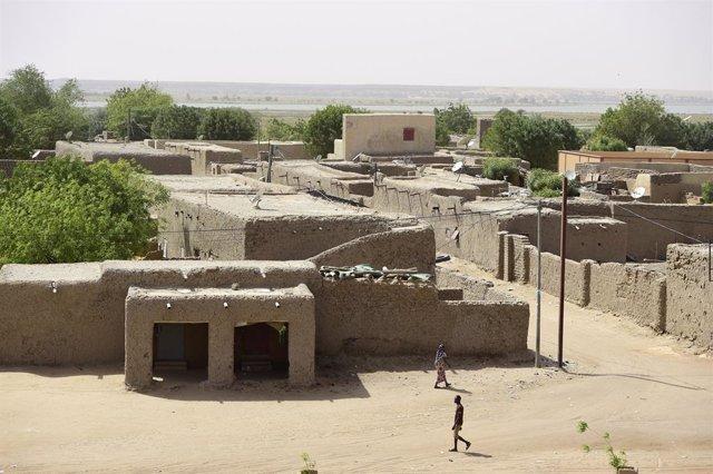 Vista general de un barrio de la ciudad de Gao, en el norte de Malí