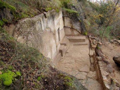 Pareja hará visitable el eremitorio medieval hallado tras las excavaciones arqueológicas