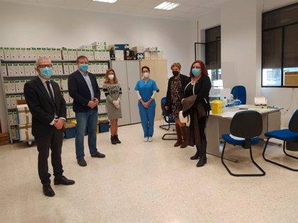 Junta realiza 650 pruebas de covid-19 en una segunda ronda al personal de los juzgados de Almería