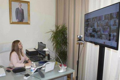 Irene García intensifica sus contactos con municipios para los proyectos a los fondos Next Generation