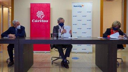 Fundación Naturgy renueva su acuerdo con Cáritas para garantizar la energía a miles de familias vulnerables
