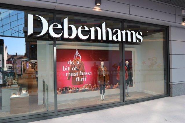Tienda de la cadena británica Debenhams