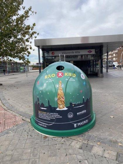 Ecovidrio y la FESBAL colaboran para transformar cada kilo de reciclaje de vidrio en alimentos para los más necesitados