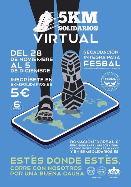 Cerca del 25 por ciento de los participantes en los 5KM Solidarios virtuales completan su recorrido