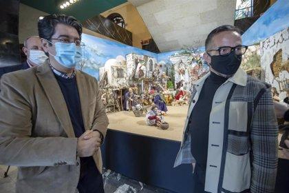 El Cabildo de Tenerife abre el belén de Navidad: medidas 'anti-Covid' y aforo reducido