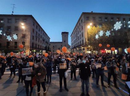 Unas 1.200 personas se manifiestan en Salamanca en contra de la reforma educativa
