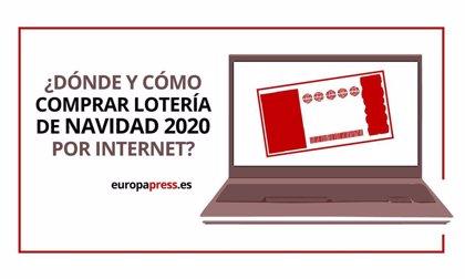 Comprar Lotería de Navidad 2020 online, páginas para encontrar números en la web