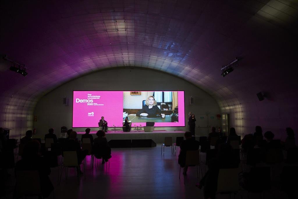 Políticos, deportistas y científicos visibilizan la contribución de las fundaciones frente al Covid en Demos 2020