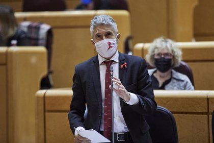 Grande-Marlaska asegura que la Guardia Civil ha evitado la salida hacia España del 41% de las pateras