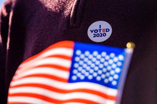 Imagen de archivo de las elecciones de Estados Unidos de este 3 noviembre.