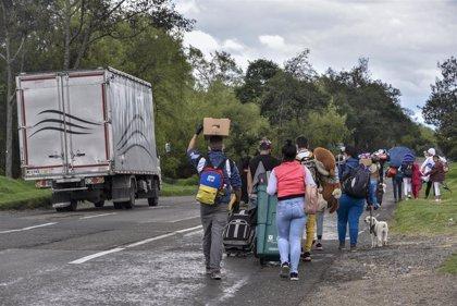 La OEA dice que el cierre de fronteras por la COVID-19 en Venezuela altera las rutas de los refugiados