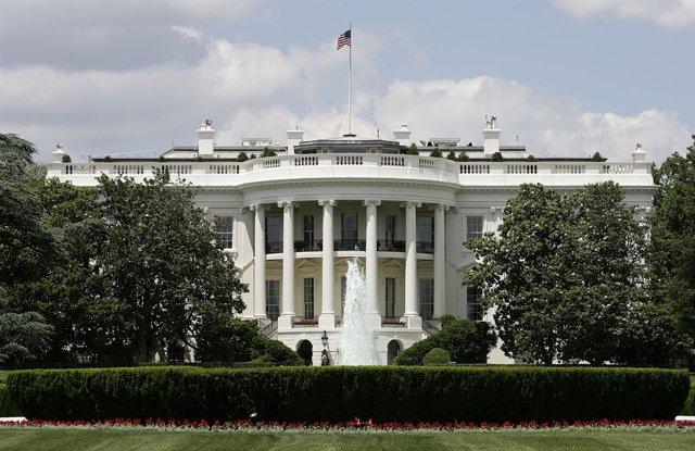 Imagen de archivo de la fachada exterior de la Casa Blanca.