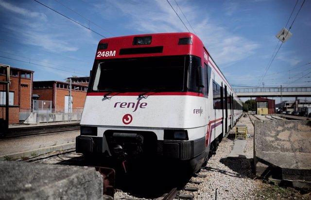 Imagen de recurso de un tren del servicio de Renfe Cercanías.