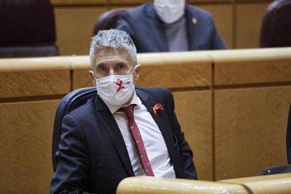 """Marlaska cree que Otegi debería dejar de liderar a EH Bildu y sostiene que es """"hipócrita"""" excluirles en los Presupuestos"""