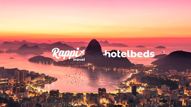 Acuerdo entre Hotelbeds y Rappi.