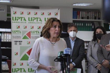 """Susana Díaz: Moreno """"prometió"""" 600.000 empleos y estamos ya """"prácticamente en el millón de parados"""""""