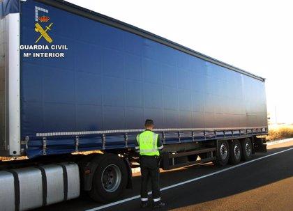 Investigado el conductor de un camión que cuadruplicaba la tasa máxima de alcohol en Lorca