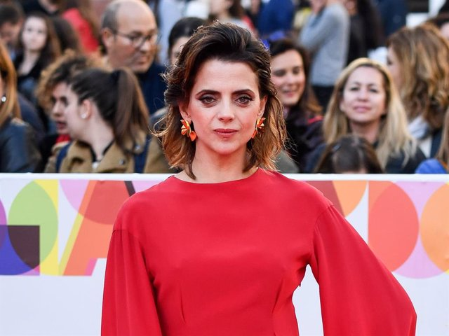 Actress Macarena Gomez attends the Malaga Film Festival 2019 closing day gala at Cervantes Theater on March 23, 2019 in Malaga, Spain.