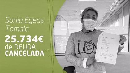 Repara tu Deuda cancela 25.734 € de deuda en Rubí (Barcelona) con la Ley de Segunda Oportunidad
