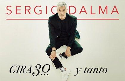 Sergio Dalma presentará su gira '30... y tanto' el 10 de abril en el auditorio El Batel de Cartagena