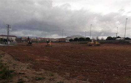 El Ayuntamiento inicia las obras del parque Juan Gispert, que finalizarán para el mes de marzo