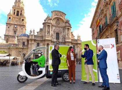 Murcia estrena 'Mioo', un nuevo servicio de entrega de paquetes a domicilio 100% sostenible