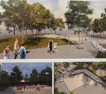 """Las obras del nuevo espacio del Parque Gallarza se iniciarán """"a la mayor brevedad"""", con un plazo de seis meses"""