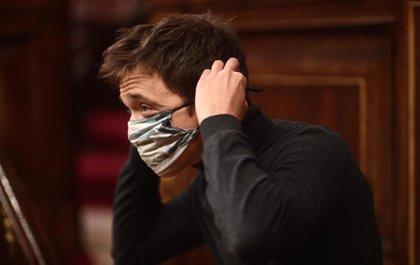 """Errejón quiere la libertad de los presos del 'procés' pero reclama alejar los indultos del """"ruido electoral"""""""