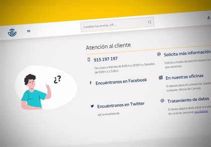 Correos elimina su línea 902 de atención al cliente a instancias del Ministerio de Consumo y Facua