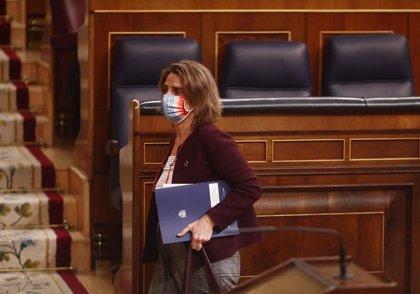 """Ribera defiende un crecimiento presupuestario del 132% en el MITECO para este momento de """"oportunidad y cambio"""""""