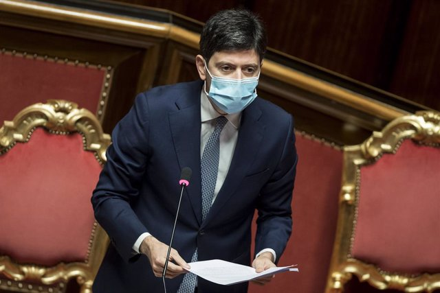 02 December 2020, Italy, Rome: Italian Health Minister Roberto Speranza speaks on the coronavirus (COVID-19) emergency during a plenary session at the lower house of parliament. Photo: Roberto Monaldo/LaPresse via ZUMA Press/dpa