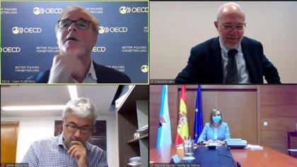 Igea expone ante la OCDE las demandas de CyL para las estrategias contra la despoblación