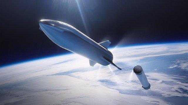 Concepto de nave Starship