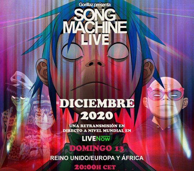 Gorillaz presentan 'Song Machine Live', su concierto virtual