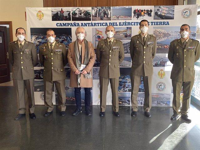 La presentación de la Campaña Antártica se ha realizado en el cuartel 'San Fernando'.