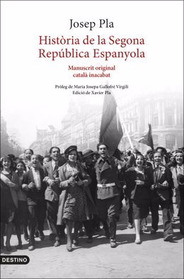Portada d''Història de la Segona República Espanyola' de Josep Pla