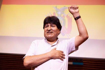 Evo Morales llegará este miércoles a La Paz para trazar la estrategia electoral del MAS para las locales