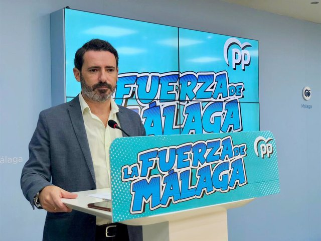 José Ramón Carmona, coordinador general del PP de Málaga