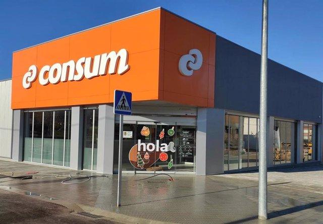 Supermercat de Consum a Almacelles (Lleida)