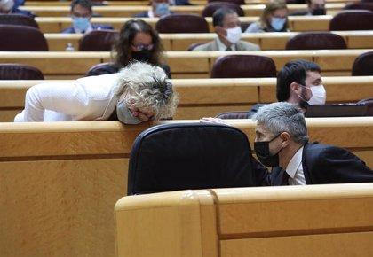 Grupo Confederal, ERC y Junts rechazan en el Senado un acuerdo de seguridad con Marruecos como apoyo a los saharauis