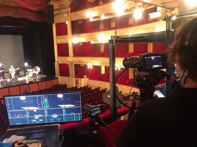 Preparación de la ponencia del Teatre Principal.