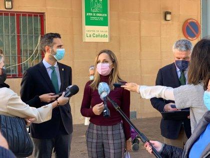 Junta invierte 233.500 euros en la ampliación de los centros de salud de La Cañada y Campohermoso