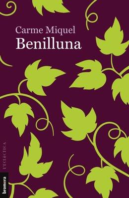Portada de 'Benilluna', novel·la pòstuma de Carme Miquel