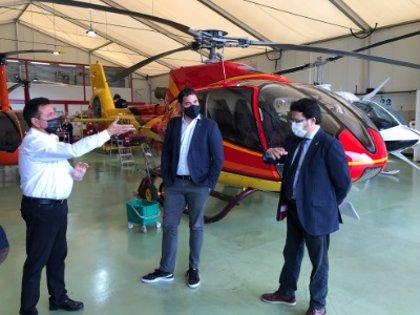 La Generalitat destina un millón de euros a mejoras para la red de helipuertos y aeródromos