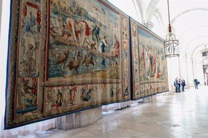 El Palacio Real homenajea a Rafael en el centenario de su muerte con los tapices de la serie apostólica para Felipe II