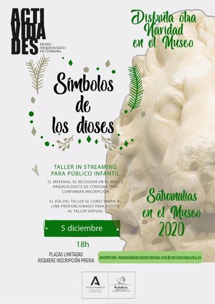 El Museo Arqueológico de Córdoba prepara en formato 'online' el taller 'Símbolos de los dioses', dirigido a niños