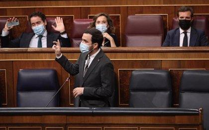 """PP, Vox y Cs critican ante Garzón la creación del Ministerio de Consumo, """"el ministro de la nada"""""""