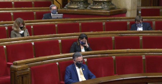 Pleno del Parlament de Catalunya del 2 de diciembre de 2020