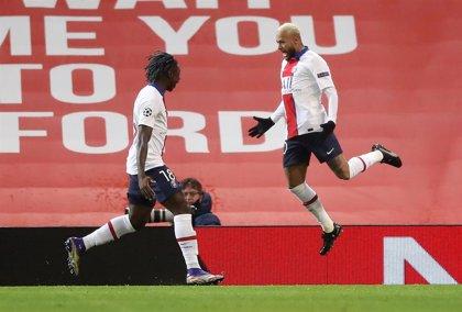 El PSG se agarra a la Champions en Old Trafford