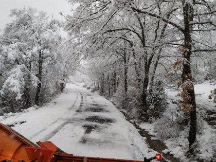 La Ibérica riojana entra el viernes en aviso por nieve